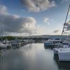 Boats at marina, Crystalbrook Superyacht Marina, Port Douglas, Queensland, Australia