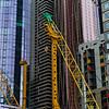 Building crane in Melbourne, State Of Victoria, Australia