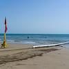 People in the ocean at Four Mile Beach, Port Douglas, Far North Queensland, Queensland, Australia