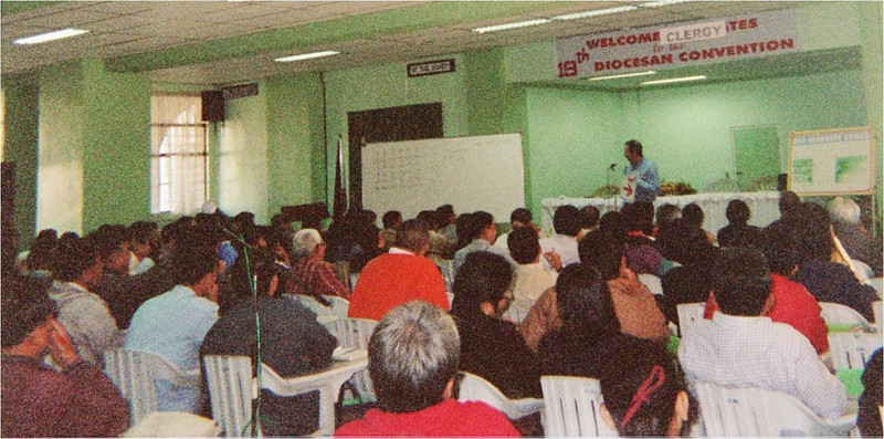 Philippines 9 Baguio training clergy February 2007