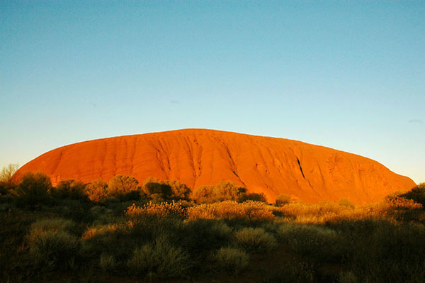 Uluru (aka Ayers Rock)<br /> Northern Territory, Central Australia
