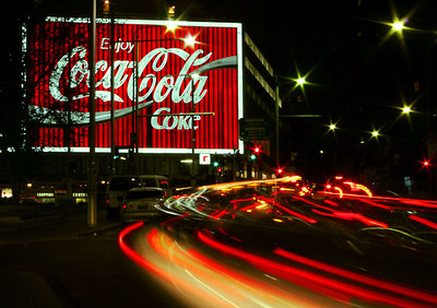Coca Cola at Kings Cross<br /> Sydney, NSW