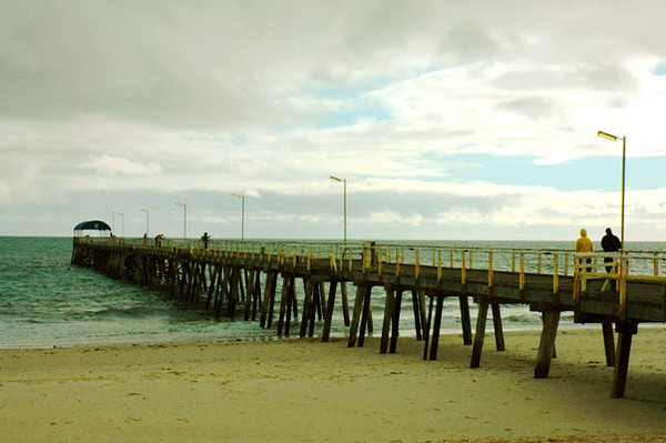 - jetty<br /> Adelaide, South Australia