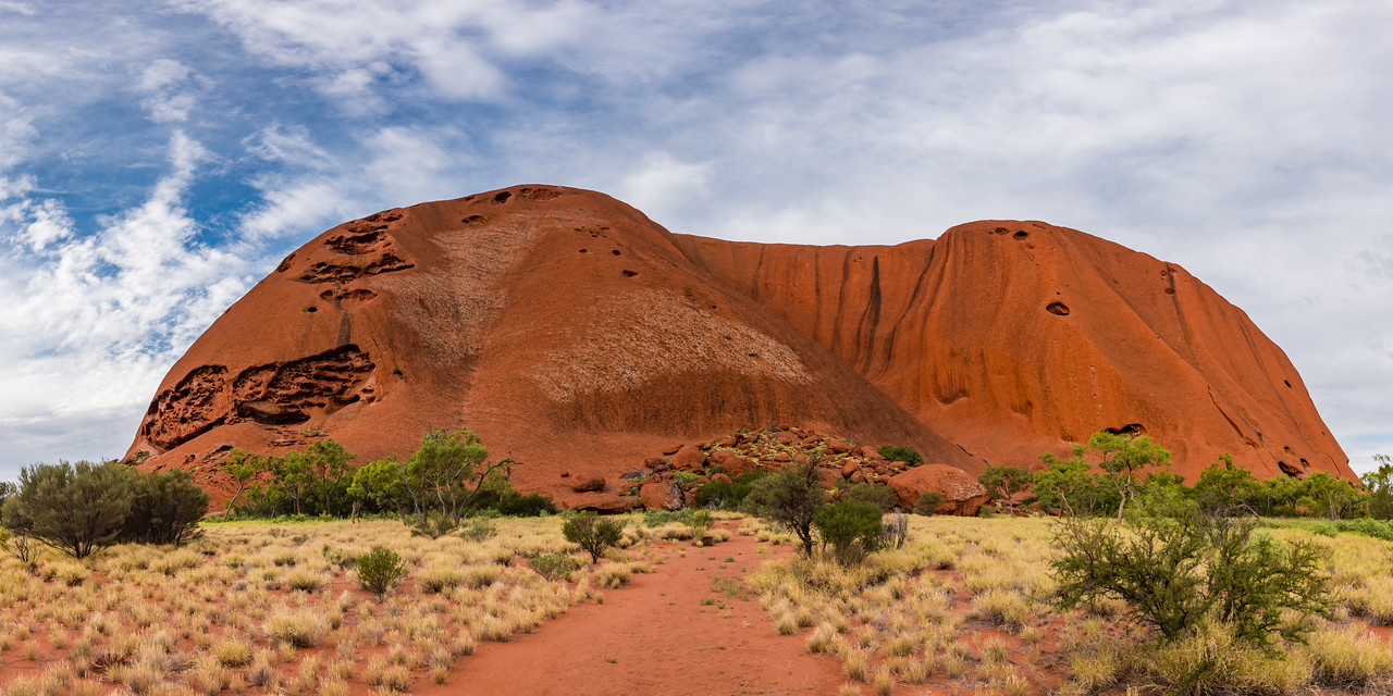 Ayers Rock Closeup