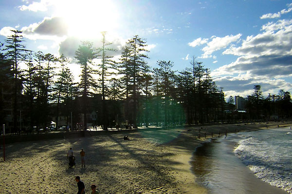 Manly Beach at Sunset<br /> Sydney, NSW