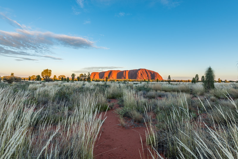 Ayers Rock at sunrise II