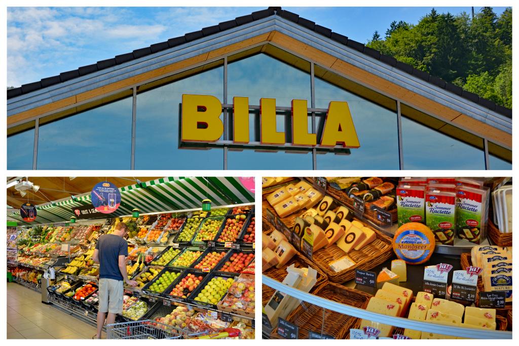 St. Gilgen grocery store