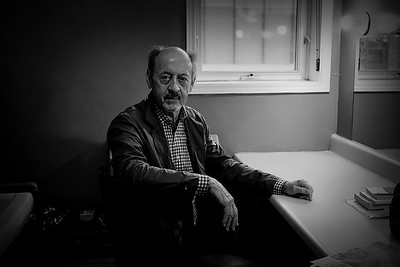 Billy Collins backstage portrait