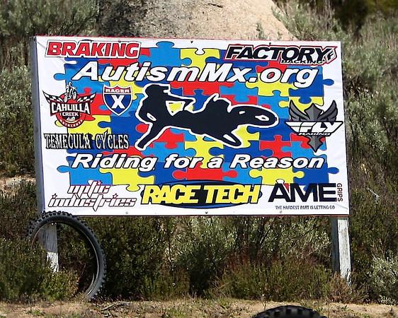 Autismmx Awareness Ride Cahuilla Creek 4-15-2012