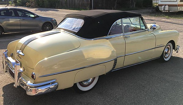 1949 Pontiac Chieftain Convertible