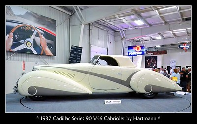 1937 Cadillac Series 90 Hartmann Cabriolet