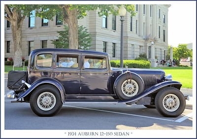 1934 Auburn 12-150 Sedan