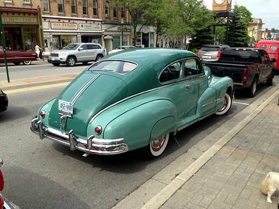 1948 Pontiac Fastback