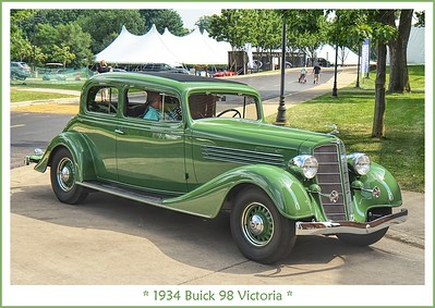 1934 Buick 98 Victoria