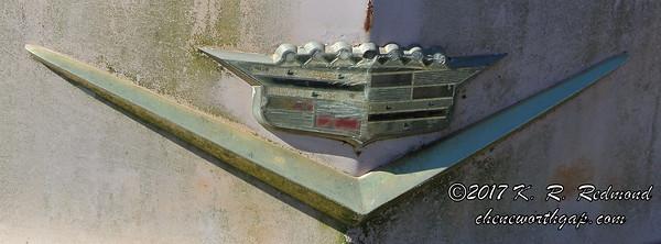 1956 Cadillac Coupe de Ville (detail)