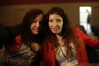 Lorena Garram y Elena Sánchez