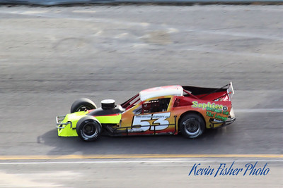 a) Tour Modifieds - Qualifying   011
