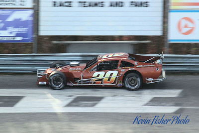 a) Tour Modifieds - Qualifying   005