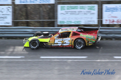 a) Tour Modifieds - Qualifying   010