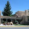 Adobe buildings in Taos.