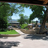Town square in Taos.