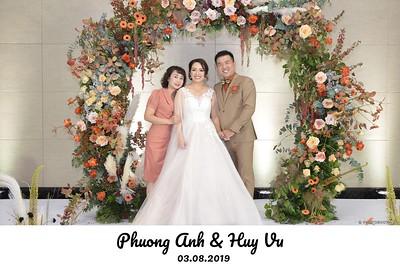 Phuong Anh & Huy Vu Wedding | instant print photobooth for weddings in Hanoi | in ảnh lấy ngay Tiệc cưới tại Hà Nội | Photobooth Hanoi