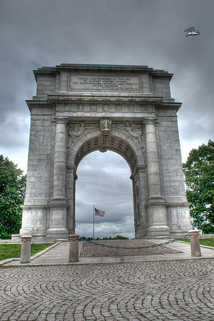 Item# 1125 VALLEY FORGE MEMORIAL 12X18