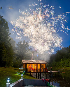 16X20 RED BRUSH LAKE FIREWORKS 01