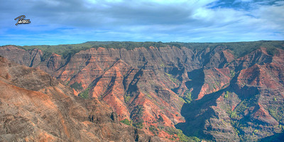 Item# 1205 - Waimea Canyon - Kauai Hawaii - 10x20 Print   copy