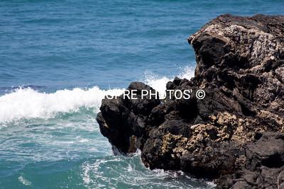Waves at SHARK HARBOR, Catalina Island, CA