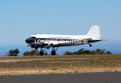 DC-3 taking off