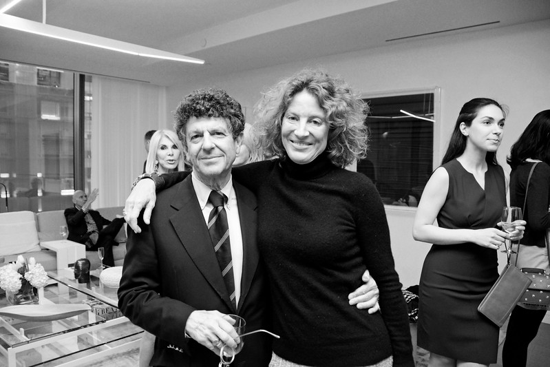Michael Gross, Baroness Bara de Cabrol  AVENUE MAGAZINE Presents an Insider Dinner and Preview of the Late Architect Zaha Hadid's Final Luxury Condo Complex Over the High Line 520 West 28th Street   NYC, USA - 2017.04.27 Credit: Lukas Greyson