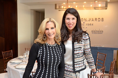Randi Schatz, Lisa Hernandez Gioia AVENUE MAGAZINE Presents the SALON DINNER & CONVERSATION about PUBLIC ART Featuring YVONNE FORCE VILLAREAL 10 Hudson Yards NYC, USA - 2017.04.06 Credit: Lukas Greyson