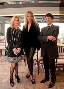 Randi Schatz, Yvonne Force Villareal, Michael Gross AVENUE MAGAZINE Presents the SALON DINNER & CONVERSATION about PUBLIC ART Featuring YVONNE FORCE VILLAREAL 10 Hudson Yards NYC, USA - 2017.04.06 Credit: Lukas Greyson