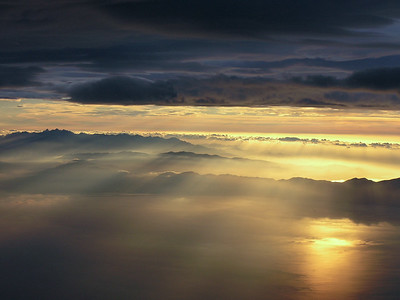 Sunset above Corsica I