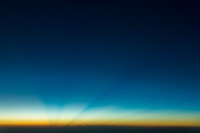 Sunrise beams