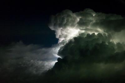 Night thunderstorm