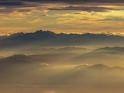 Sunset above Corsica II