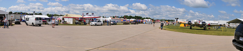 Main aircraft display area