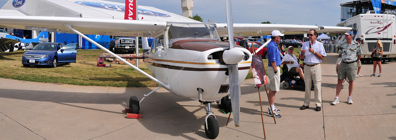 This Cessna 172 was owned by Johnny Carson