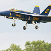 "US NAVY F/A-18 HORNET ""BLUE ANGELS"""