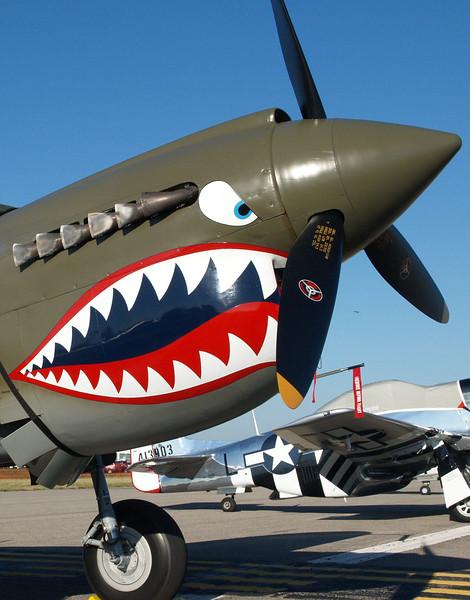 P-40 WARHAWK FIGHTER