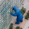 Big Blue Bear, peregrine-eyed view