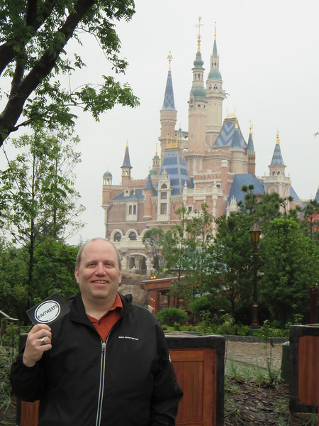 The Most Interesting AVTweep in the world in a Theme Park in Shanghai In China