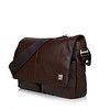Kobe Soft Leather Messenger 154-304-BRN