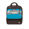 "Dale 15"" Tote Backpack 154-402-BRN"