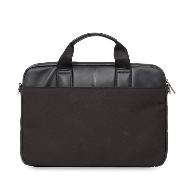 """Stanford 13"""" Slim Briefcase 154-258-BLK"""