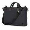 "Oxberry 15"" Slim Briefcase Charcoal 156-256-CHA"