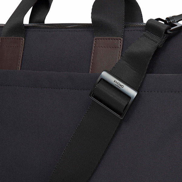 """Oxberry 15"""" Slim Briefcase Charcoal 156-256-CHA"""