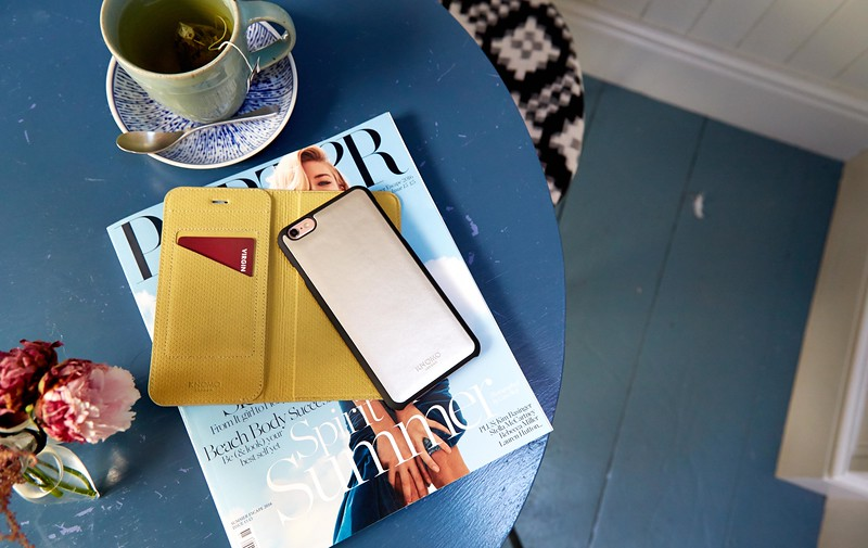 iPhone 6 Plus Mag Folio Gold 91-104-GLD